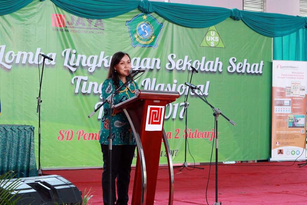 SD Pembangunan Jaya 2 Sidoarjo bersama Pendidikan.id, Ikuti Penilaian Lomba Lingkungan Sekolah Sehat tingkat Nasional (LSSN)