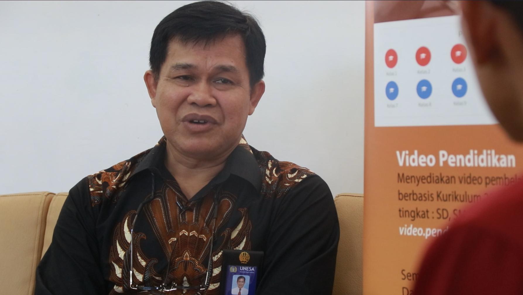Prof. Djodjok Soepardjo: Pemanfaatan Teknologi Digital untuk Perkembangan Pendidikan itu Sangat Perlu