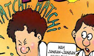 komik pendidikan komik literasi