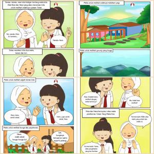 komik edukasi komik anak-anak