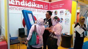 Si Kipin Pameran Pendidikan GESS Indonesia 2017
