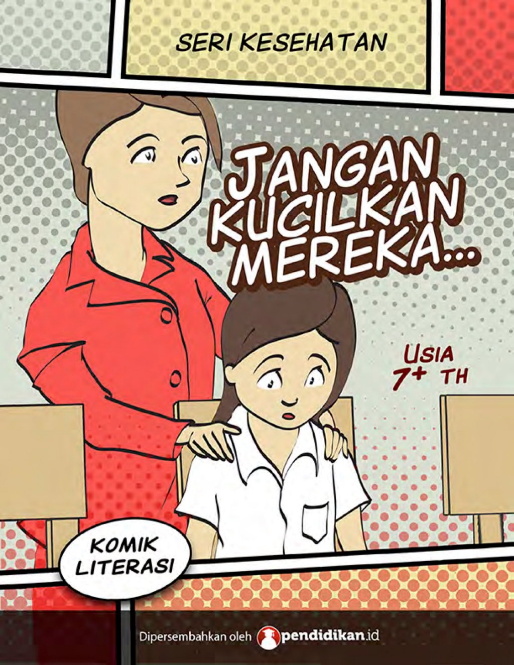 komik pendidikan cerita anak-anak komik kesehatan