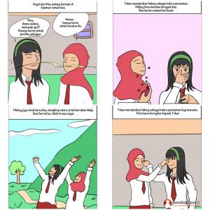 komik edukasi cerita anak-anak