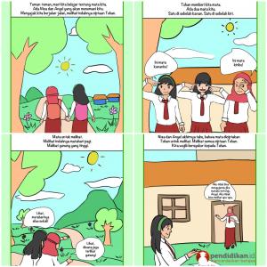 komik literasi komik pendidikan