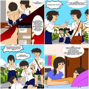 komik literasi, komik pendidikan