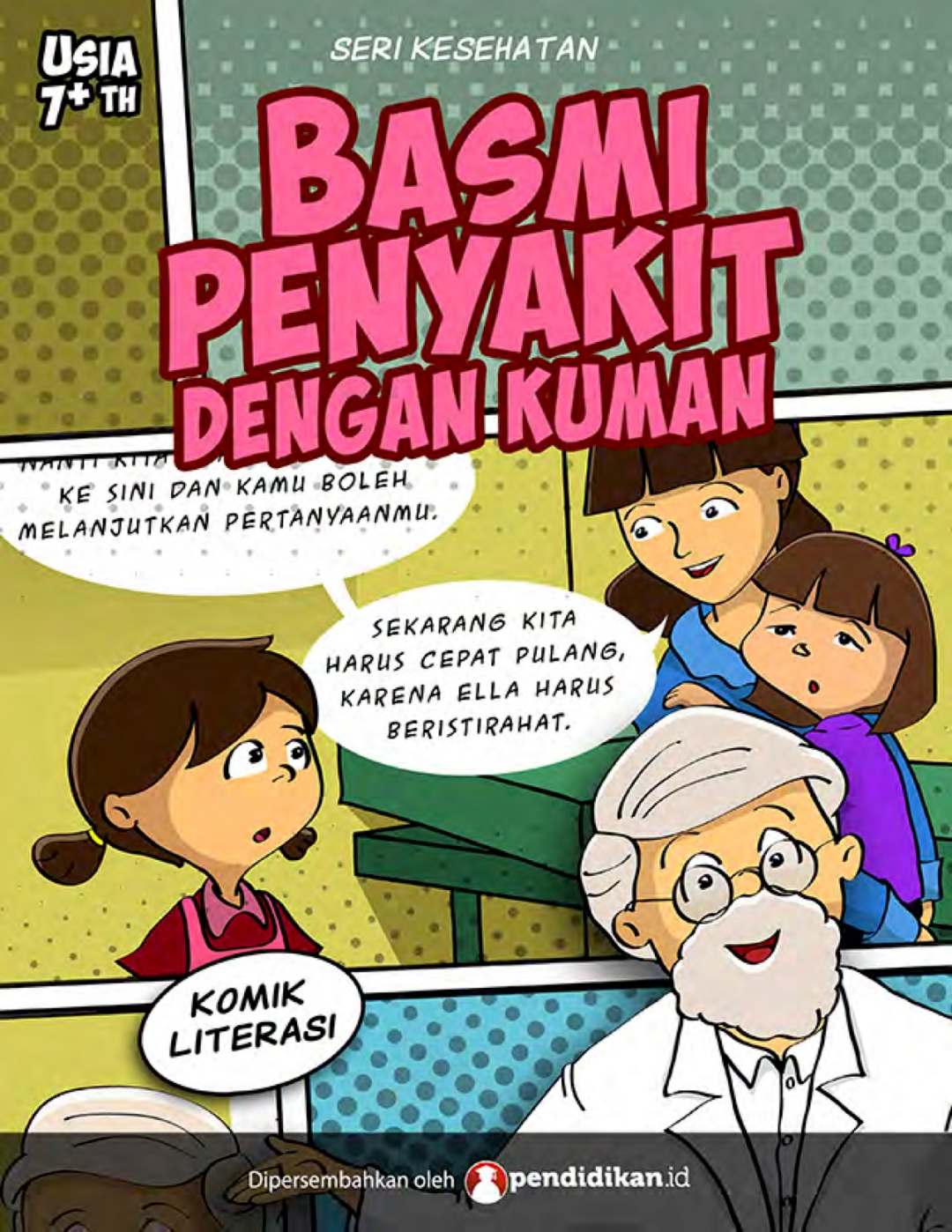 Komik Edukasi: Ingatkan Pentingnya Vaksin Pada Anak-anak dan Orang Tua – Kumpulan Artikel Dan Berita Pendidikan Indonesia Berbasis Tehnologi Digital