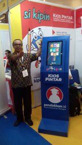 Si Kipin di Pameran Pendidikan GESS Indonesia