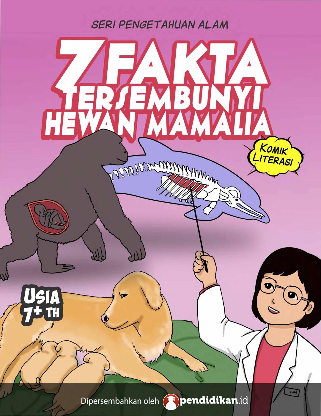 Mengenal Hewan Mamalia Berdasarkan 7 Fakta Tersembunyi di Komik Edukasi yang Menarik