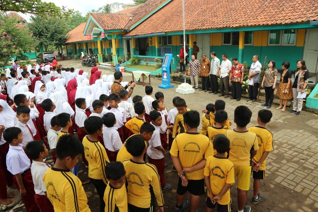 Gagahnya KIPIN di SDN 02 Karangtengah Baturraden, Program CSR Selamatkan Pendidikan Indonesia
