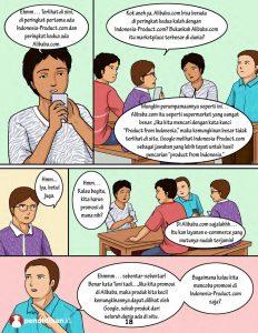 komik edukasi alibaba vs indonesia-product