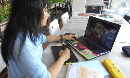bekerja paruh waktu freelance komikus indonesia