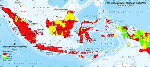 peta rawan bencana di indonesia