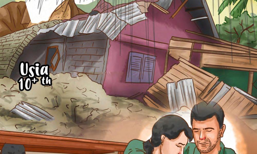 indonesia rawan gempa bumi komik edukasi