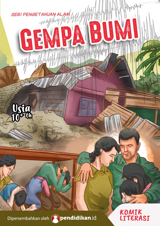 Edukasi Dini untuk Antisipasi dan Hadapi Gempa Bumi Melalui Komik