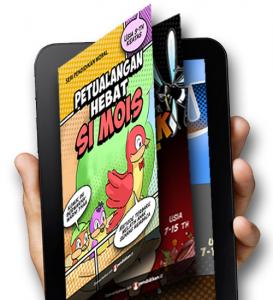 komik literasi solusi meningkatkan minat baca anak