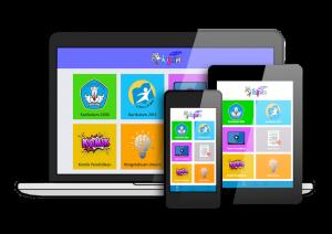 aplikasi belajar online e-learning melalui smartphone