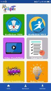 buku pelajaran komik literasi video pendidikan latihan soal