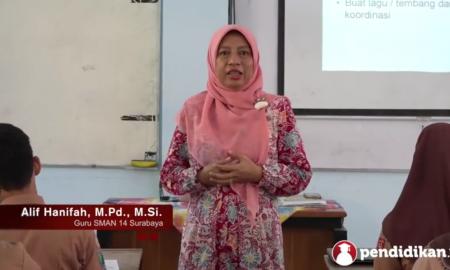 guru SMA berprestasi tingkat nasional