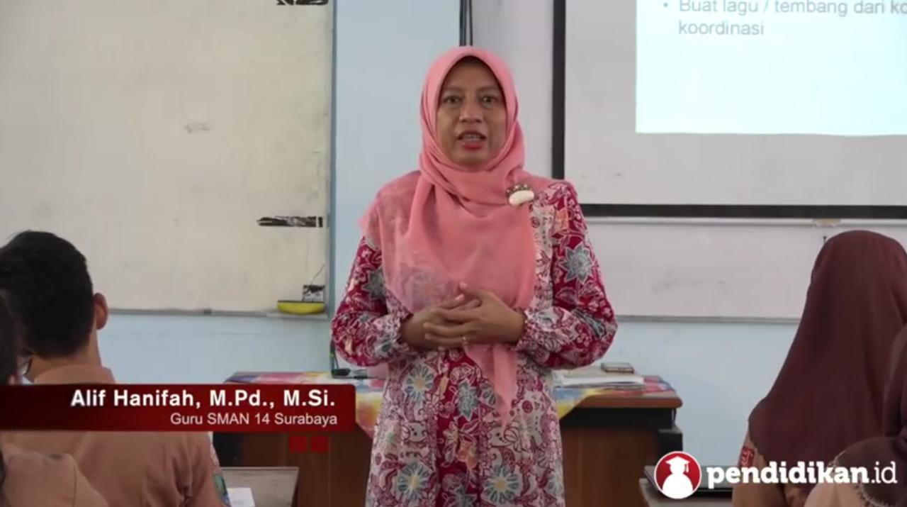 Alif Hanifah, Guru SMAN 14 Surabaya Raih Predikat Guru Berprestasi Kedua Tingkat Nasional, Buah Prestasi Bersama MGMP Biologi Jatim
