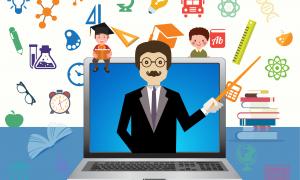 e-learning cara guru mengajar di era milenial