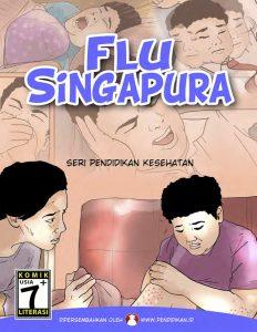 pengobatan flu singapura, menangani flu singapura