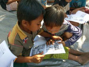 anak-anak korban gempa lombok, bantuan untuk gempa lombok