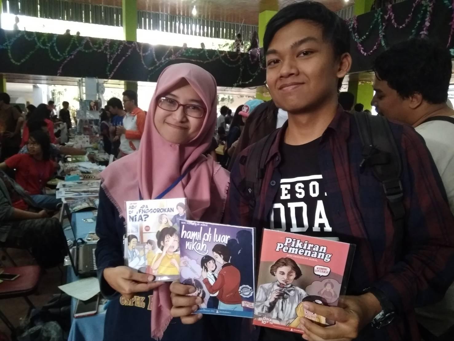 komik pendidikan mangafest ugm