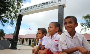 sekolah di daerah 3T, SDN Sonraen Kupang