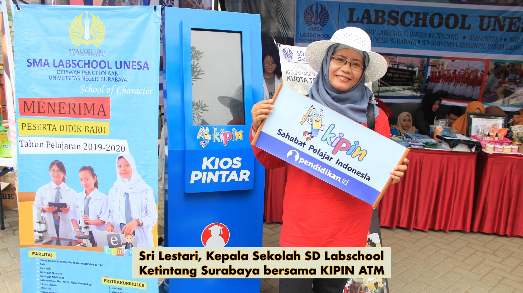Teknologi Digital KIPIN ATM Meriahkan Dies Natalis Ke-54 Universitas Surabaya (UNESA)