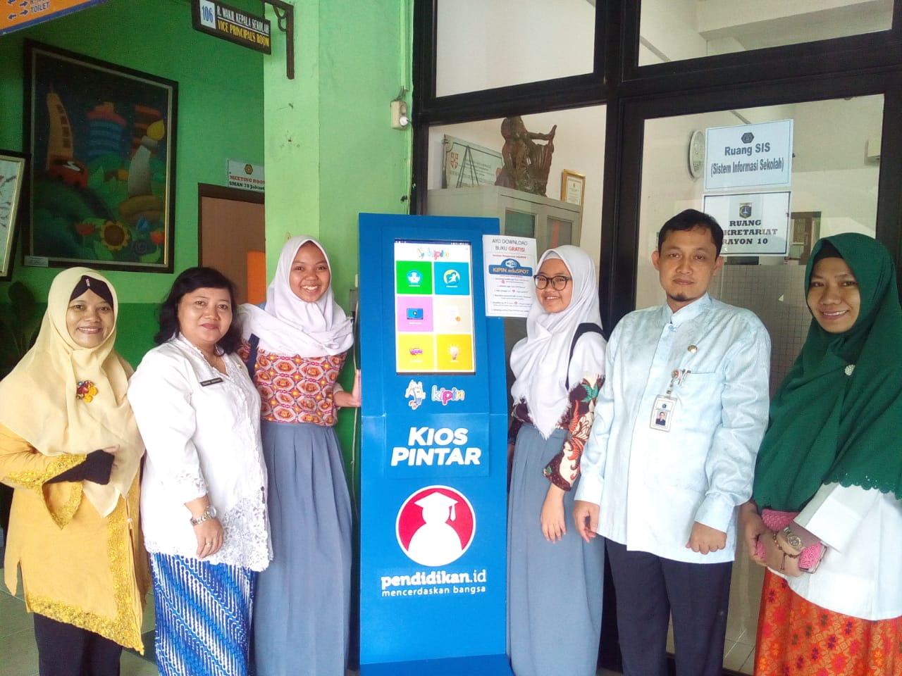 KIPIN Goes to School SMAN 78 Jakarta: Sekolah Tak Perlu Lagi Kebingungan Membeli Buku Referensi