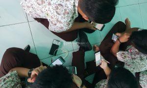 ujian online mandiri dan santai di sekolah