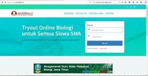 tryout online akbar tingkat SMA Jawa timur