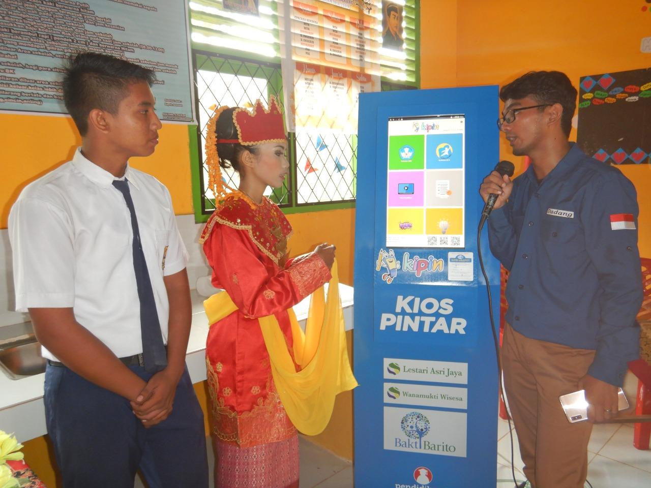 Satu Media Pembelajaran Digital untuk Satu Kemajuan Pendidikan di SD-SMP Negeri Satu Atap Sungai Karang
