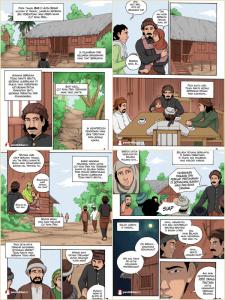 buku sejarah cut nyak dien, komik sejarah