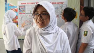 smp muhammadiyah 4 surabaya, edukasi berkendara melalui komik literasi