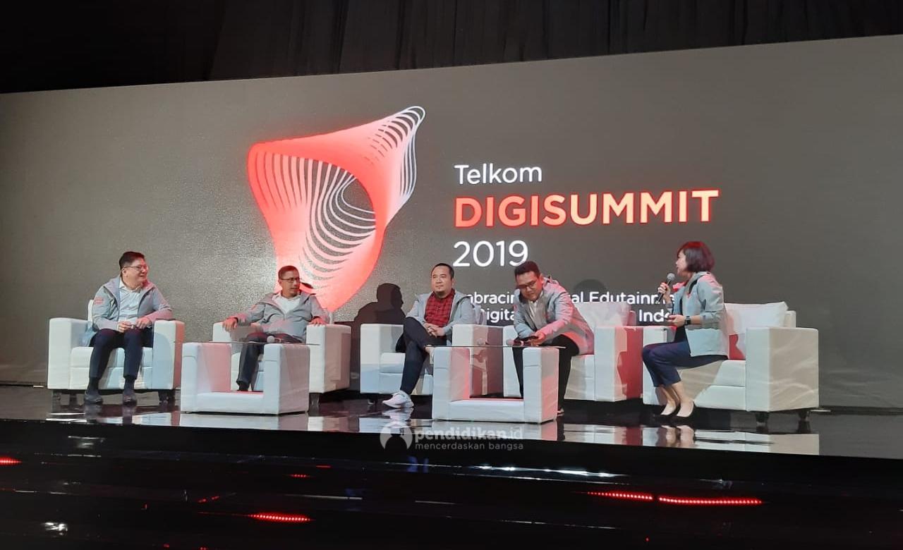 Telkom Digisummit 2019: Tingkatkan Kualitas Pendidikan Indonesia Melalui Inovasi Teknologi Edukasi Digital