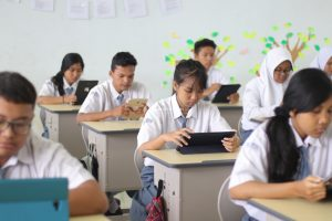 digitalisasi sekolah, sma swasta unggulan di surabaya
