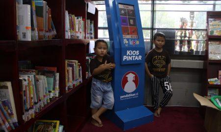 perpustakaan daerah perpusda sidoarjo teknologi edukasi