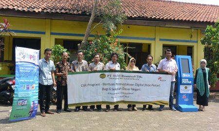 PT Bumi Resources CSR Pendidikan SDN Danau Indah 01 Bekasi