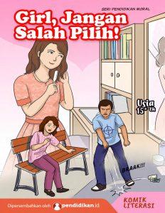 komik literasi komik edukasi sosial, sosialisasi cegah KDRT
