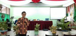 MGMP Bahasa Indonesia, ujian online melalui ponsel, server ujian online