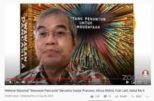yudi latif wawasan pancasila, ketua bpip, ideologi pancasila