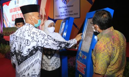 program anjungan belajar mandiri diknas jatim perpustakaan digital
