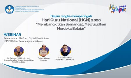 Webinar Hari Guru Kemdikbud Pemanfaatan Teknologi Digital untuk Pembelajaran
