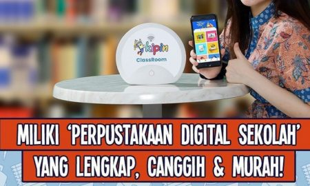 perpustakaan digital, sekolah digital, digitalisasi sekolah