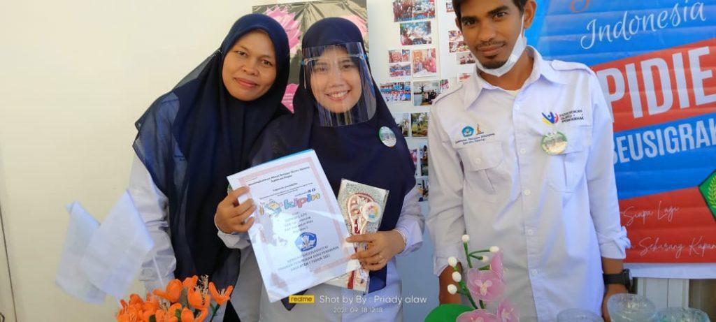 Rekan Guru Memperoleh Pengetahuan Mengenai Kipin School 4.0 pada Acara Temu Karya Guru Penggerak Kab.Pidie, Aceh.
