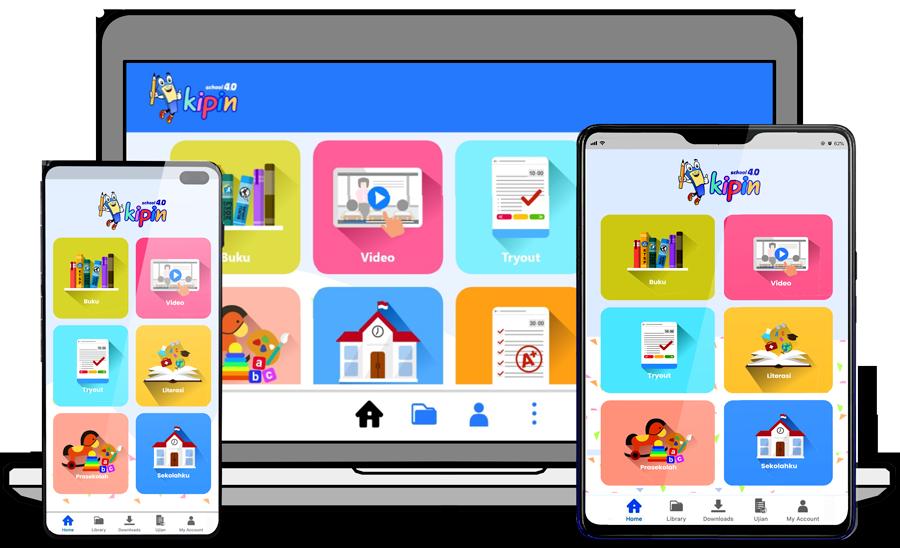 Aplikasi Kipin School 4.0 pada Kipin